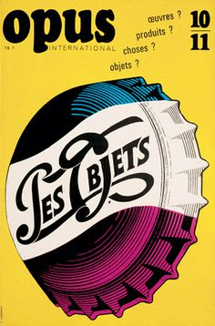 Typeverything.com - Les Objets - Cover for Opus,... - Typeverything #illustration
