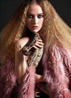 Raquel Zimmermann by Mario Sorrenti #fashion #photography #inspiration