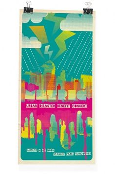 Markus Wreland Graphic Design » Gig posters #live #gig #design #illustration #metric #poster #concert