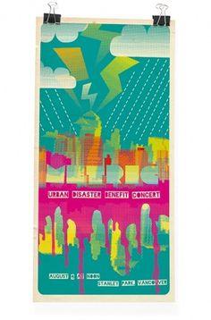 Markus Wreland Graphic Design » Gig posters