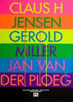 Michiel Schuurman - Graphic Designer #colorful #drips #poster #modern
