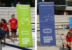 The Partners Website / Office Games #signage #design #identity #branding