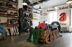 3d type in the studio #real #letters