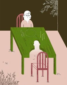 It's Nice That : Gracia Lam #illustration #sad