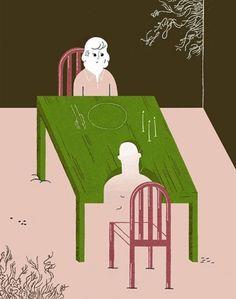 It's Nice That : Gracia Lam #illustration #sad