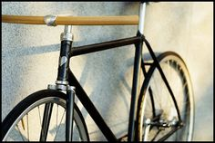 hi - we are fast boy cycles #wood #handlebars #bicycle