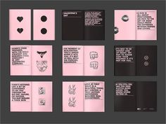 Re: Bittersweet Valentine's Day #valentines #copywriting #pink #hate #one #booklet #colour #love