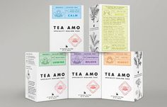 Tea Amo   The Dieline