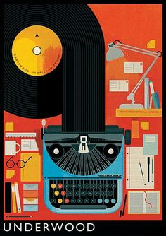 The Visual Work Of Mike Lemanski #illustration