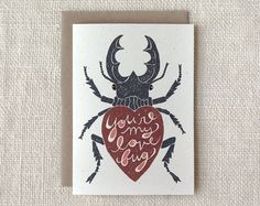 Valentine Card   Love Bug