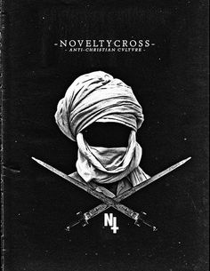 Novelty Cross// #colorless #black #anti #tone #half