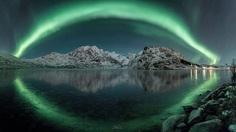 Lofoten Arctic Photography: Aurora Borealis and Northern Winter Wonderland