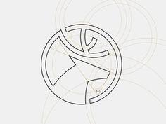 Dia Holdings - Logo grid system #vietnam #mark #deer #gird #construction #branding #logo #coin #grid #system #symbol #circle #bratus