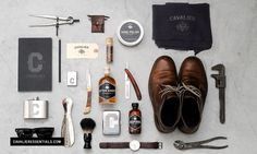 Cavalier Essentials by Taylor Pemberton   Allan Peters #products #design #men #cavalier