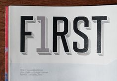 "Fonts In Use – Fortune Magazine, ""500"" Issue #type #tal #leming"