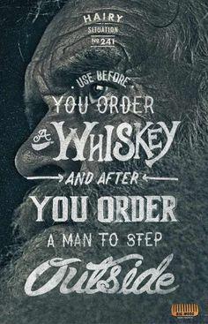 Big Wood Beard Combs: Whiskey