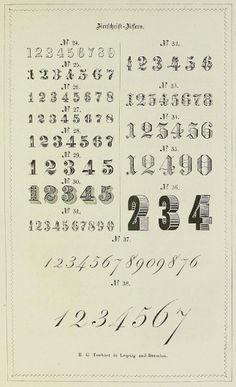 Guide graphique de l'imprimeur en 1848 | La boite verte #typography