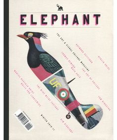 design work life » Studio8: Elephant #print #cover #magazine