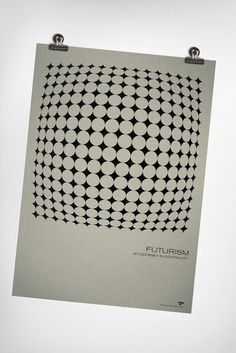 Futurism excites | Graphic Designer | Simon C Page #poster