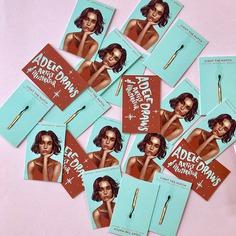 Adele Leyris—Spot UV Business Cards