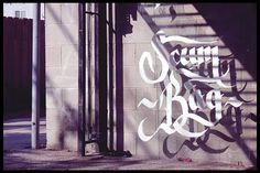 Floating Calligraphy on the Behance Network #calligraphy #shadows #glass #beautiful #love #awesomeness