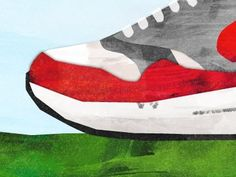 Dribbble - Hungry by Matt Stevens #mattstevens #airmax1aday #nike #illustration #sneakers #hungry