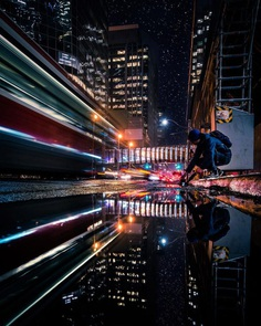City Rainbow: Photo Reflections of Toronto's Streets by Jessie Wald