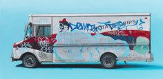 kevin cyr #van #vehicle #graffiti