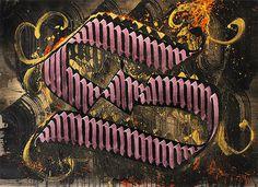 Calligraffiti by Niels Shoe Meulman 10 #calligraphy #text #graffiti #calligraffiti #art #street #typography