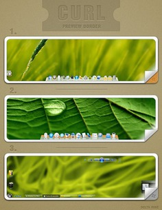 Curl preview border Free Psd. See more inspiration related to Border, Curl, Vertical and Preview on Freepik.