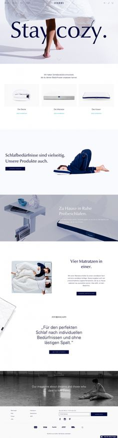 German softness matratze mattress matress soft cozy muun beautiful website webdesign inspiration designblog modern trend 2016 bed sleep slee