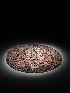 Art design of a ring rug