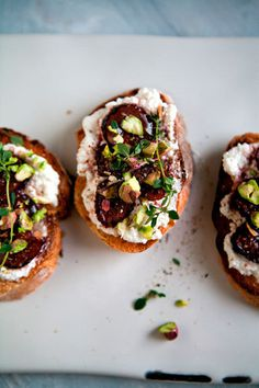 leelacyd_tartine_001 #ricotta #food #figs #bread