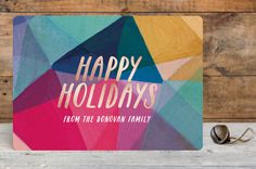 #holiday #geometric #card