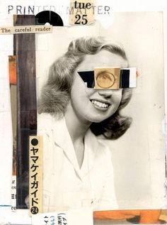 CHARLES WILKIN #layout #collage #handmade #composition