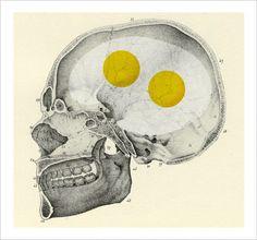 Chad Hagen | Art + Design #hagen #skull #eggs #chad