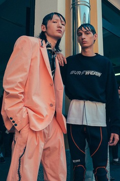 M1992 SS19 Backstage! - Fucking Young!