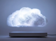 Floating Cloud - Magnetically Levitating Cloud Lamp