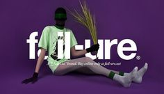 fail-ure® on the Behance Network #direction #cut #serial #art
