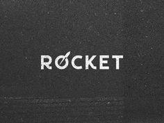 Rocket Logo #logo #rocket #texture