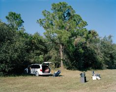 Mark PowerFamily selling their belongings at the side of the road.Whispering Pines, Florida #usa #photography