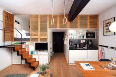 50 Small Studio Apartment Design Ideas (2019) – Modern, Tiny & Clever - InteriorZine #design #furniture #modernfurniture #interior #decor