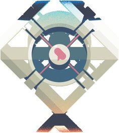 FeedbackLoop.gif #portal #vector #color #gif