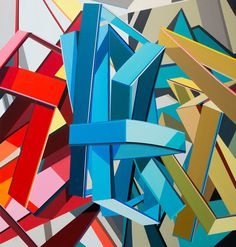 Tommy Fitzpatrick | PICDIT #geometry #color #paint #painting #art #artist