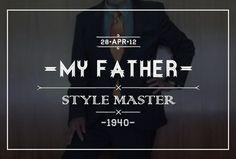myfatherstylemaster #fashion #logo #branding