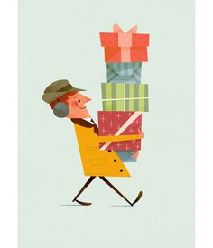 Eight Hour Day » Blog » Andrew Kolb #presents #illustration #people