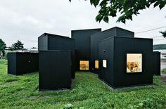 House O by Jun Igarashi #black #blackhouse #volumes #black #blackhouse #boxes #volumes