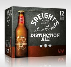 Speight's Distinction Ale Packaging