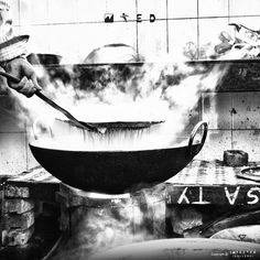 Monster Cooking #scale #gallery #smoke #cooking #infected #large #kitchen