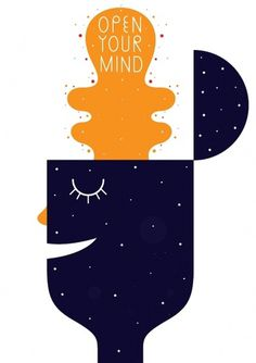 Anton Weflö #mind #swedish #simple #illustration #wefl #open #anton